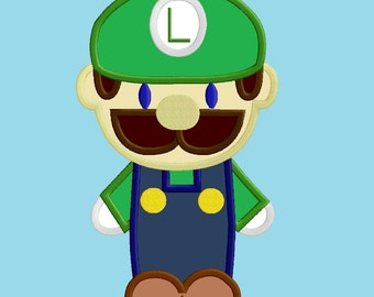 Mario Brothers - Luigi Applique