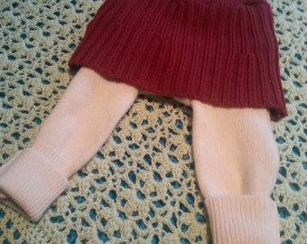 Small wool skirties/longies