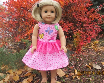 American girl butterfly dress