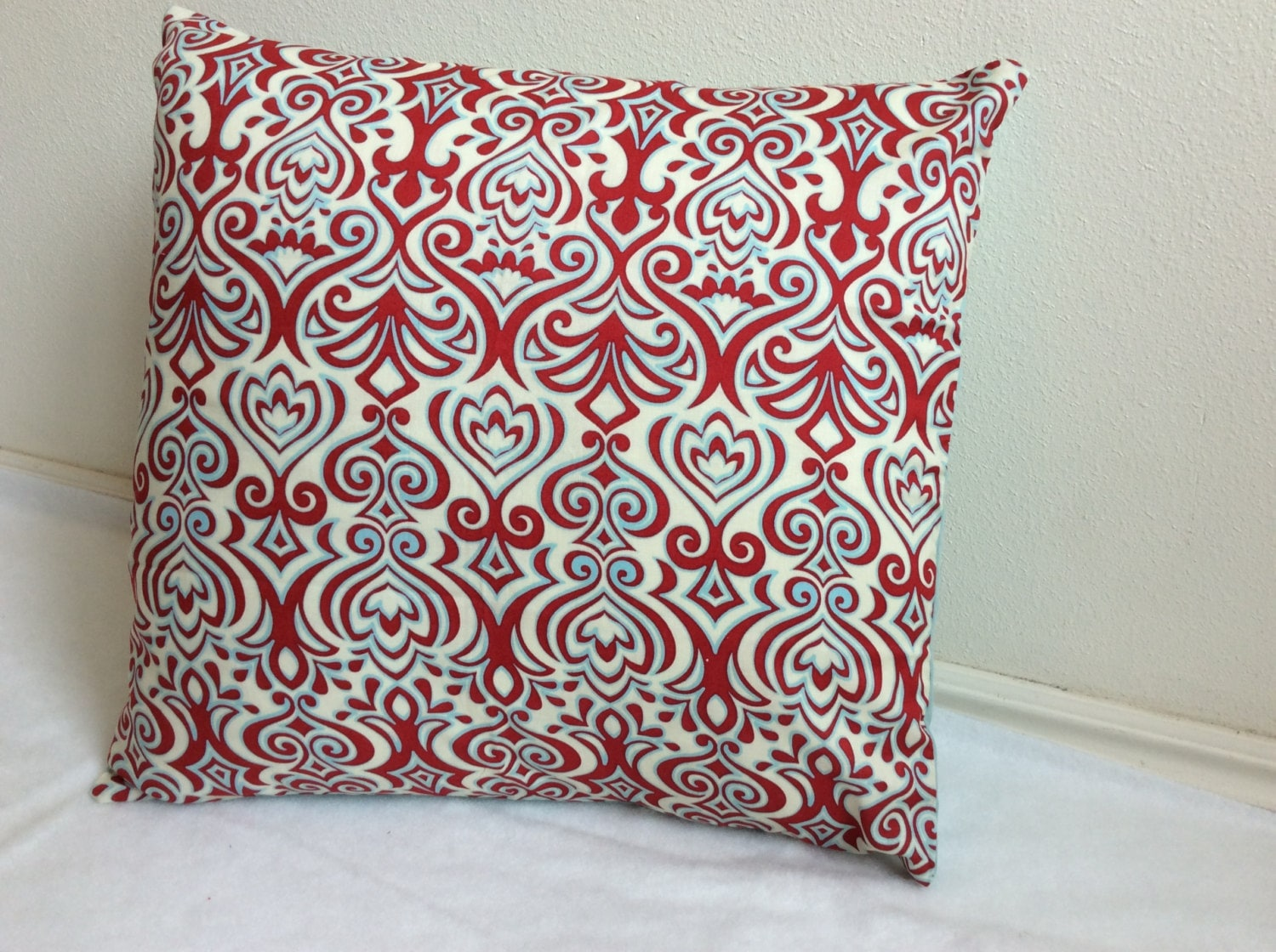 Decorative Pillows With Washable Covers : Throw pillow covers 16 x 16 washable removablered by BellsPillows