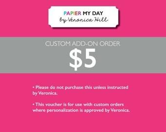 Custom Design Order - 5