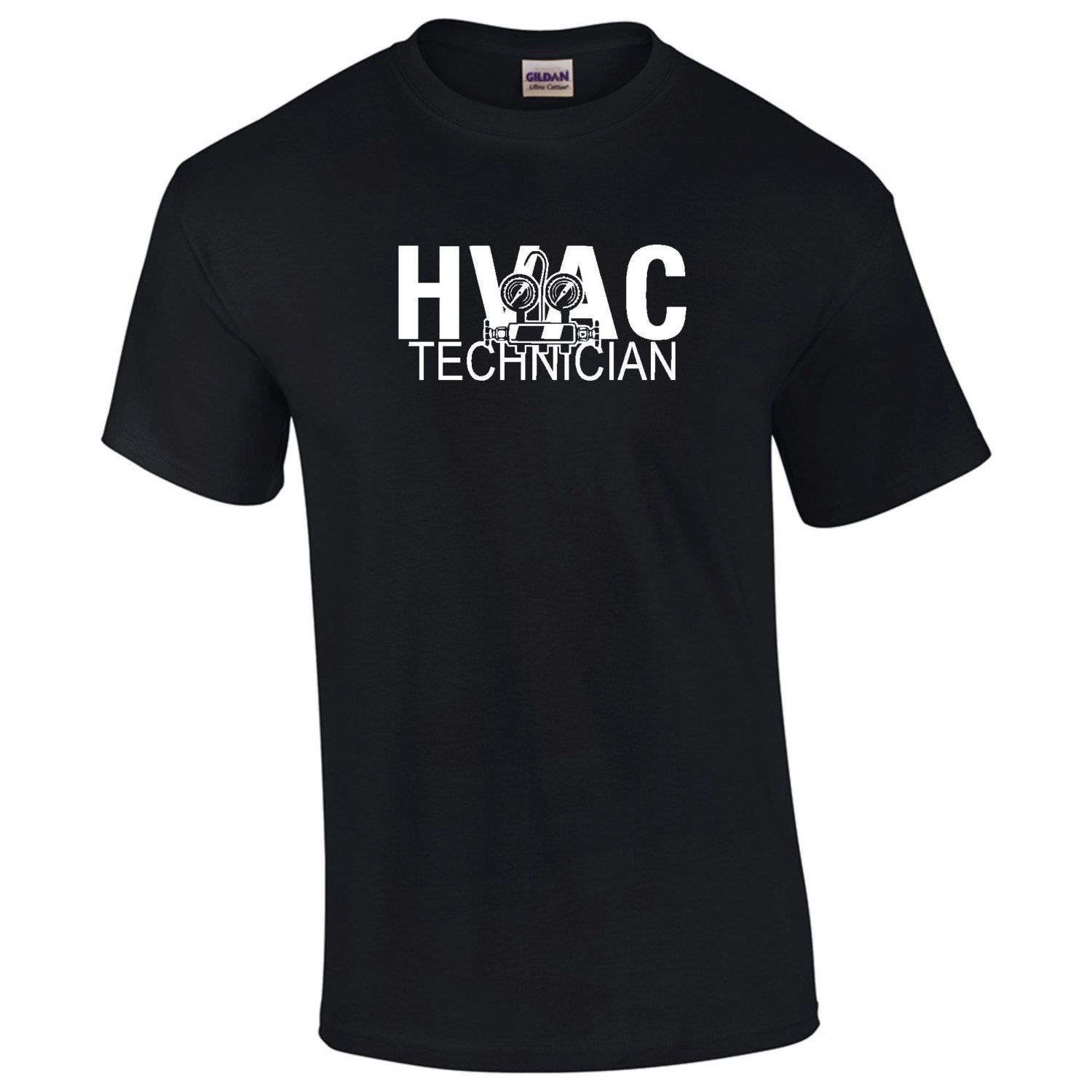 Hvac technician t shirt mens ladies womens kids big and tall for Design your own t shirt big and tall
