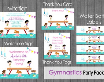 Gymnastic Party Package