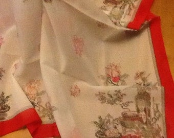 Vintage St Michaels Scarf made in Italy.