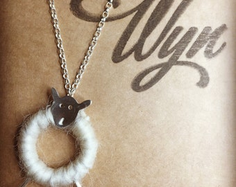 Woolly Sheep Pendant