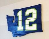 Seattle Seahawks 12s wall art