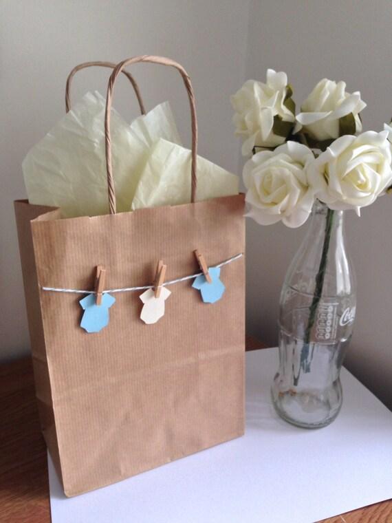 Baby Gift Sack : Baby shower gift bag by bagzofjoyuk on etsy