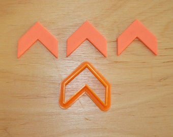 Simple Chevron Cookie Cutter