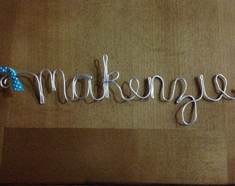 Only 9.00! Personalized Wire Name Tags