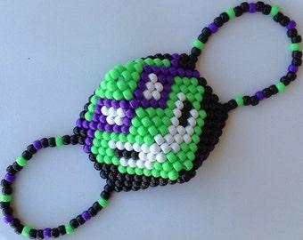 Custom Teenage Mutant Ninja Turtle Kandi Mask  (Choose your color!)