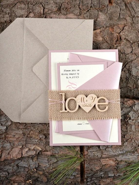 Benutzerdefinierte liste 20 rustikal von forlovepolkadots for Hochzeitseinladung holz