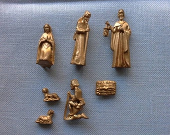 Itty bitty Nativity