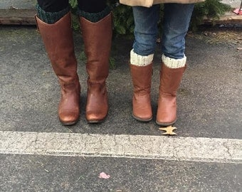 Mommy & Me Boot Cuff Set-Reduced Rate!