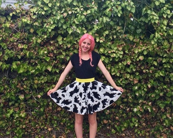 Jesse Inspired Disneybound Circle Skirt