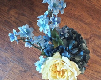 Yellow and Blue Arrangement in Boodles