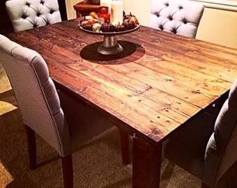Handmade Rustic Wood Table