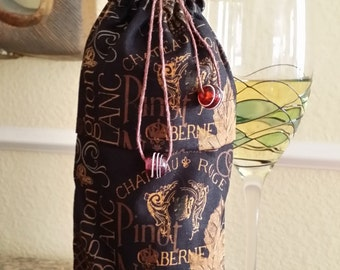 Gourmet Wine Bag-Vintage Collection (Midnight)
