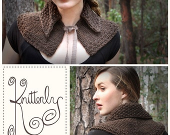 Outlander Pattern for Claire's Capelet