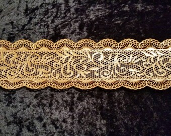 Filigree 3D Cake Lace, Made to Order Edible Cake Lace