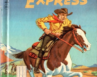 Pony Express - Rand McNally Elf Book