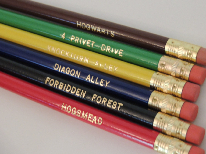 harry potter inspired pencil set pencil fandom by. Black Bedroom Furniture Sets. Home Design Ideas