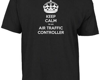 Keep calm I'm an air traffic controller t-shirt