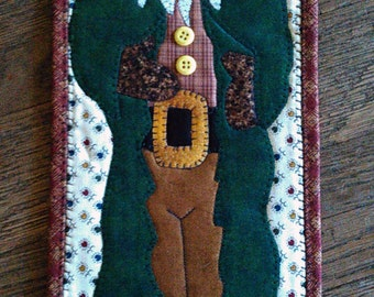 Old Man Winter Decorative Wall Hanging