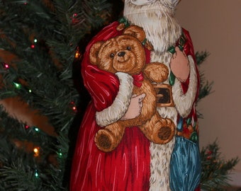 VICTORIAN Style FATHER CHRISTMAS Figure
