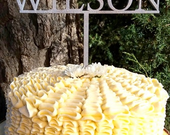 Custom Wedding Cake Topper Mr and Mrs Custom Wooden Cake Topper