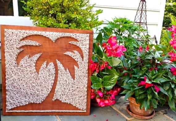 Palm Tree Wood Amp Nail Art