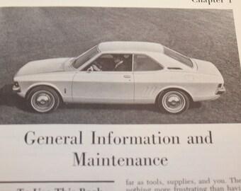 Classic Vintage Chilton's Dodge Colt Automotive Book