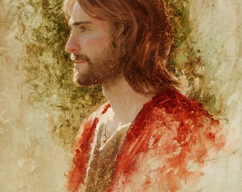 "Jesus Christ Art Print ""The Prince of Peace"" by Artist Jared Barnes"