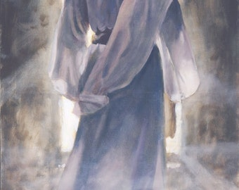 "Jesus Christ Art Print ""The First"" by Artist Jared Barnes"