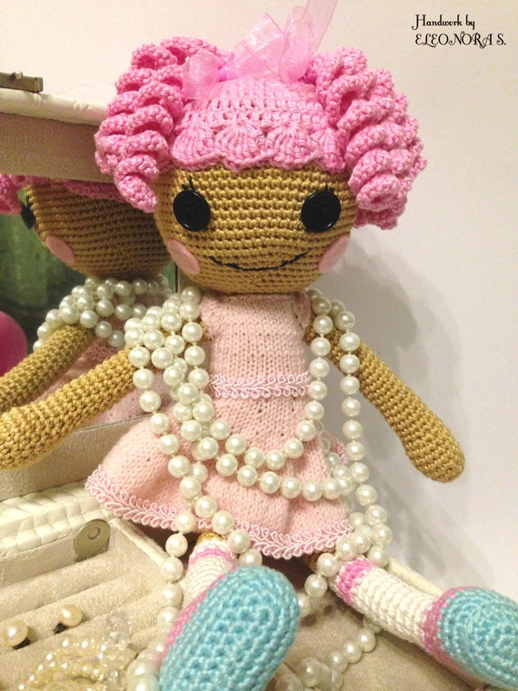 Amigurumi Toys For Babies : Lalaloopsy amigurumi toy / Baby and Toddler Gift / Gift for