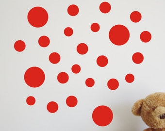 39 Spot Wall Stickers / Wall Decals / Window Stickers - by Createworks SK013X