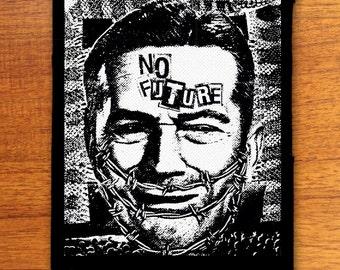 No Future punk patch, punk patches, Dead Kennedys album