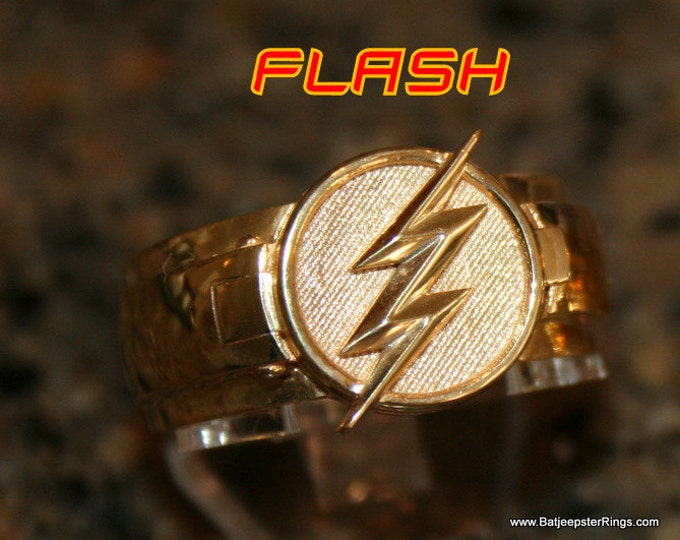 Custom Flash T.V. Inspired  Flash Ring