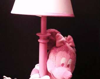 JUST REDUCED Pink Minnie Mouse Lamp