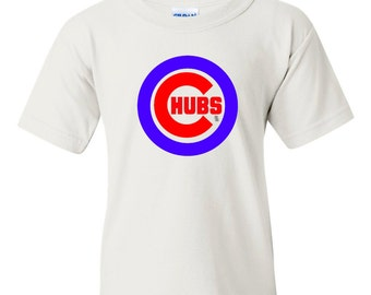 Chicago Cubs Chubs Funny Kids T-Shirt, Cubs Fan Kids Shirt, Chicago Cubbies Shirt, Chicago Cubs Baby, Cubs Baby Clothes, Cubs Infant Shirt