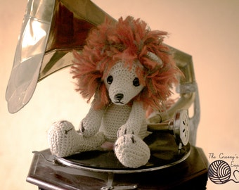 Lion Amigurumi Soft Toy Crocheted