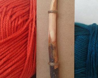 Wood Crochet Hook Size P (11.5mm), Pioneer Style