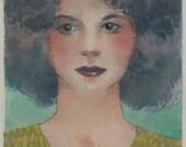 Young Girl Original Art K...