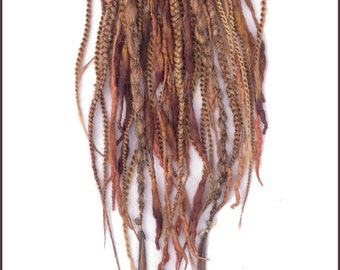 Auburn Tribal Ponytail Fall- CUSTOM MADE