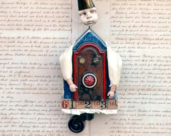 Block Art Doll Fritz