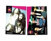 2 Vintage Trading Cards, Soundgarden and The Goo Goo Dolls, 1990s Alternative Music Collectible ProSet SuperStars Musicards (0058)