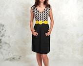 Laurels Dress in Triangle