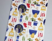 Cooking Italiano 13x20 kitchen wetbag