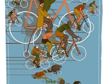 Screens 'N' Spokes Bike MS NYC Rich Kelly 2014