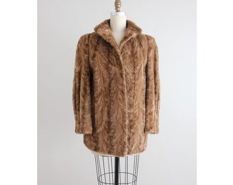 mink fur coat / mink coat / real mink coat