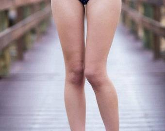 Polka dot Retro Pin up high waist bikini Bottoms Only Choose your color